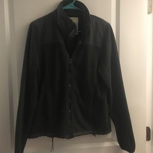 Grey Fleece Aeropostale Jacket